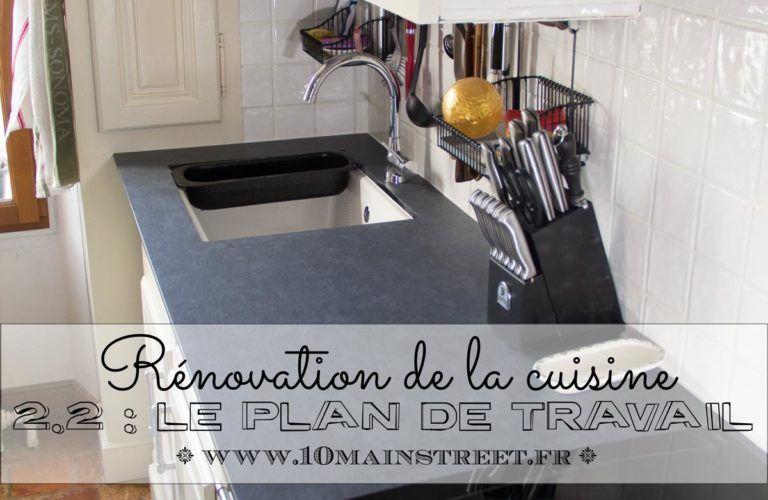 Renovation De La Cuisine Installation Du Plan De Travail En Compakt Cuisine Renovation Plan De Travail Plan De Travail Cuisine