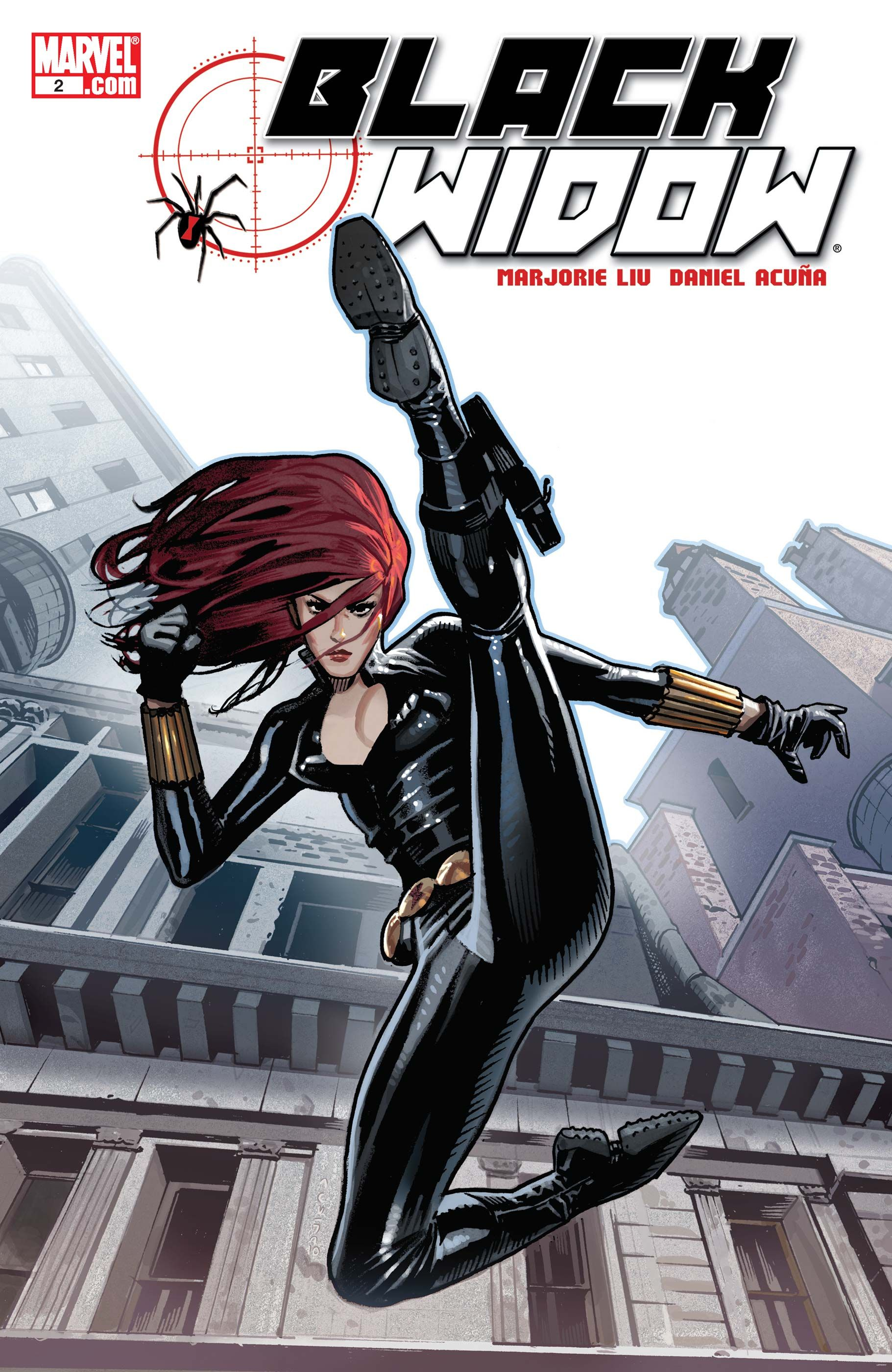 Black Widow 2 The Name Of The Rose Part Two July 2010 Black Widow Marvel Comics Marvel Comics