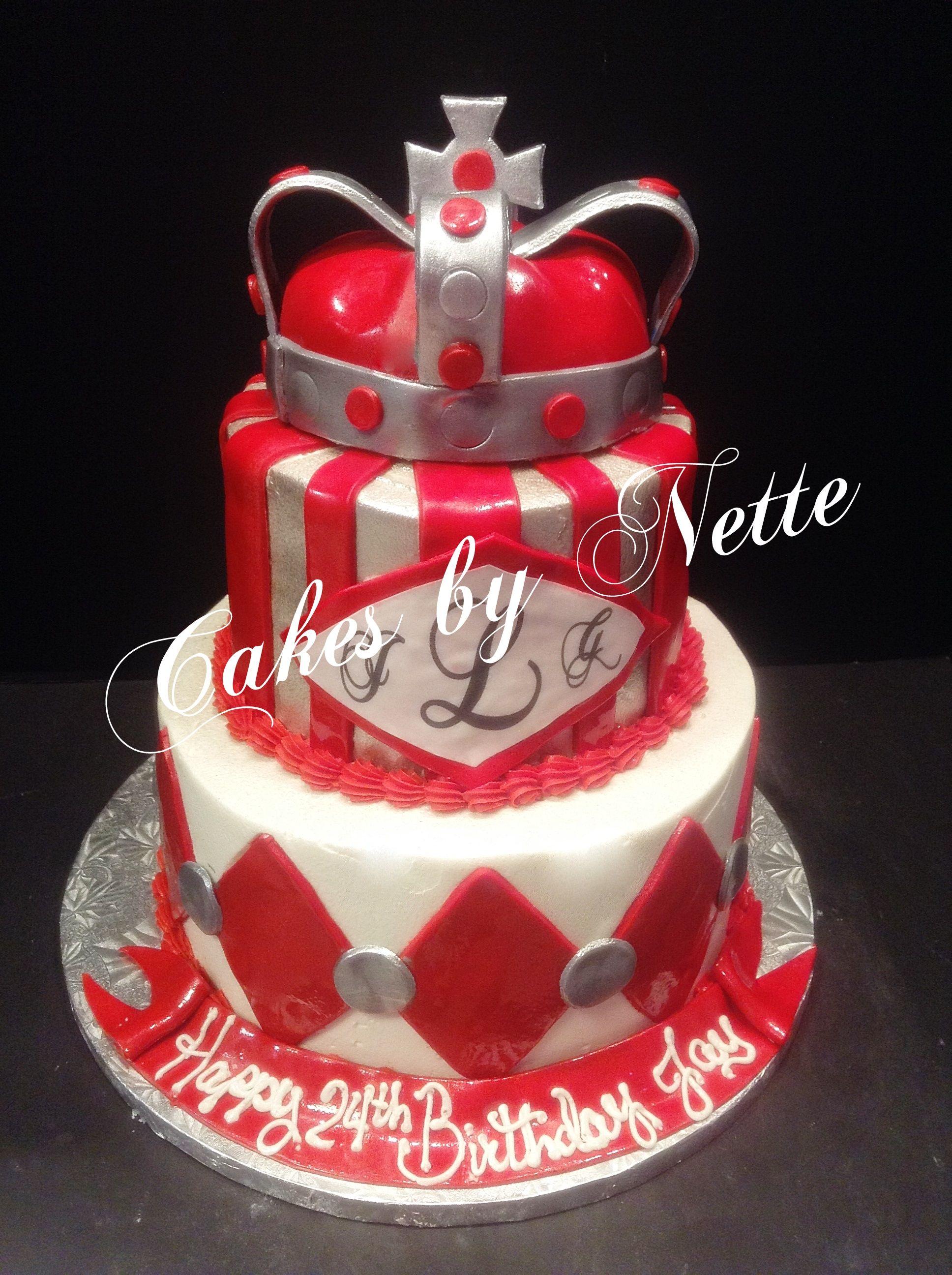 King Cake Cakes By Nette St LouisMO Men Cakes Pinterest