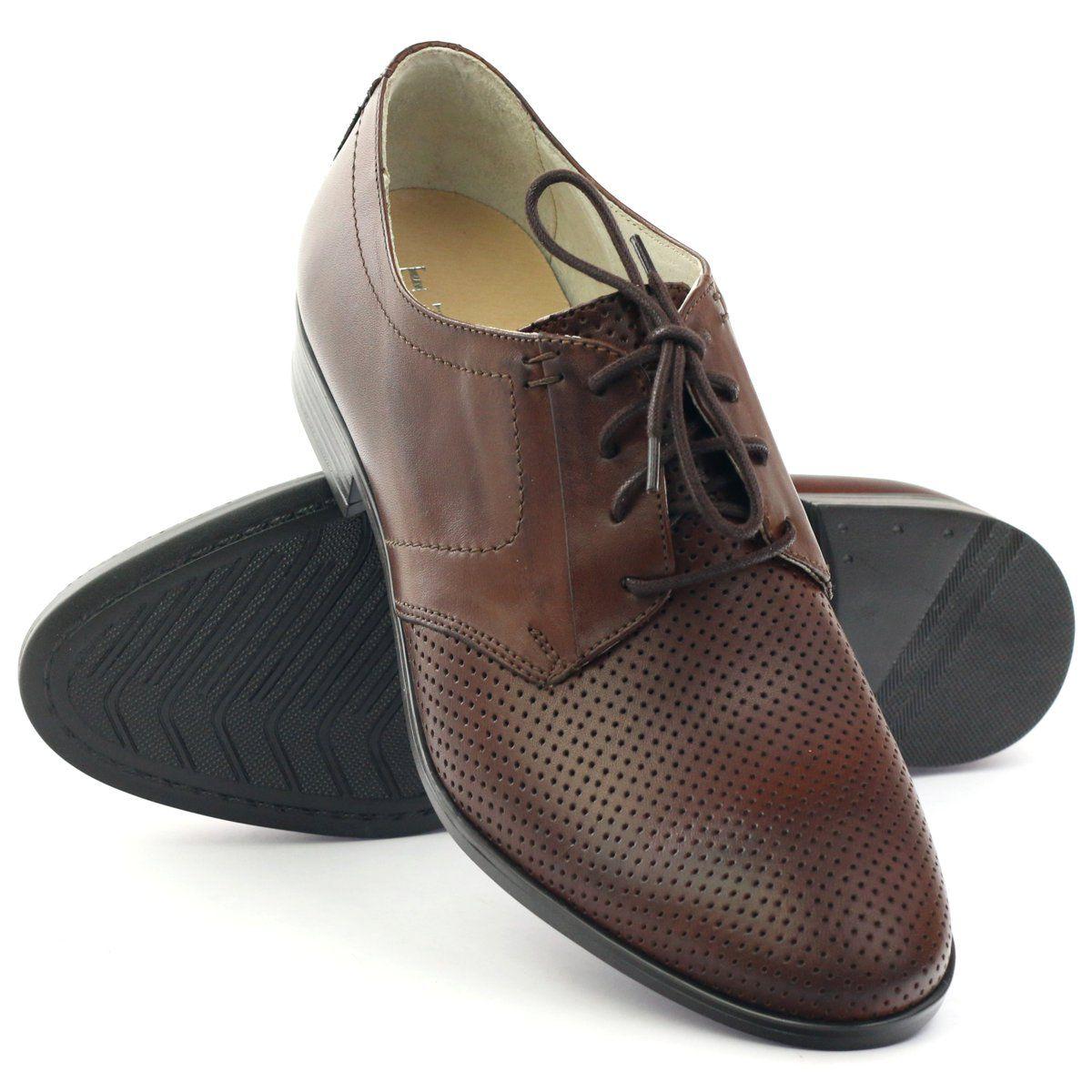 Polbuty Meskie Tur 344 Brazowe Shoes Dance Shoes Tap Shoes