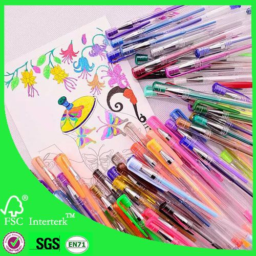 free sample glitter gel ink pen gel pen set | pens | Gel