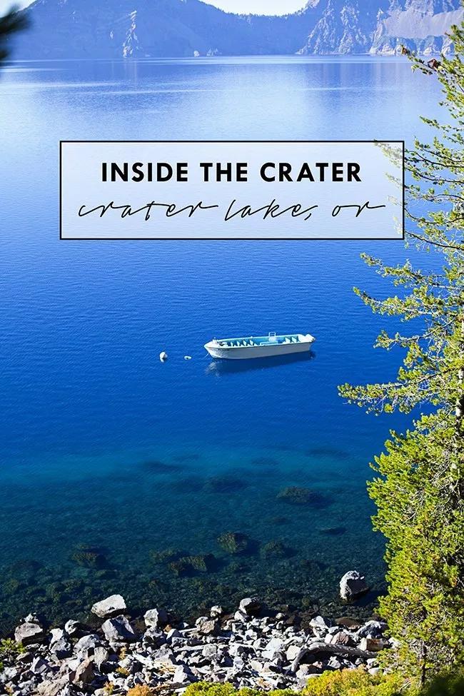 Inside Crater Lake National Park - Let Birds Fly