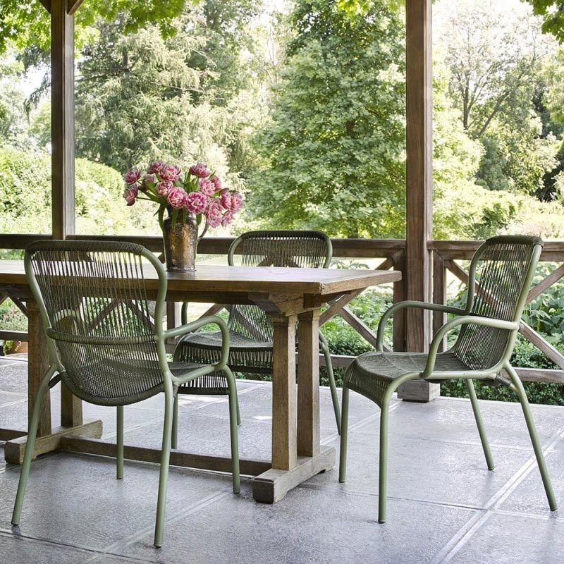 2 Er Set Vincent S Garden Loop Gartenstuhl Villa Schmidt Hamburg Gartenmobel Design Gartensessel Gartenstuhle