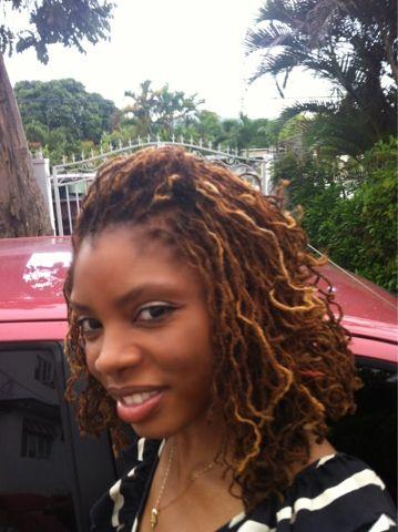 Copper Colored Sisterlocks Black Hair Haircuts Womens