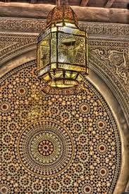 Resultado de imagen de morocco inside basin tile