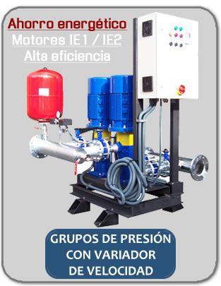 Grupo de presion con variador de velocidad cosas para - Grupo de presion ...
