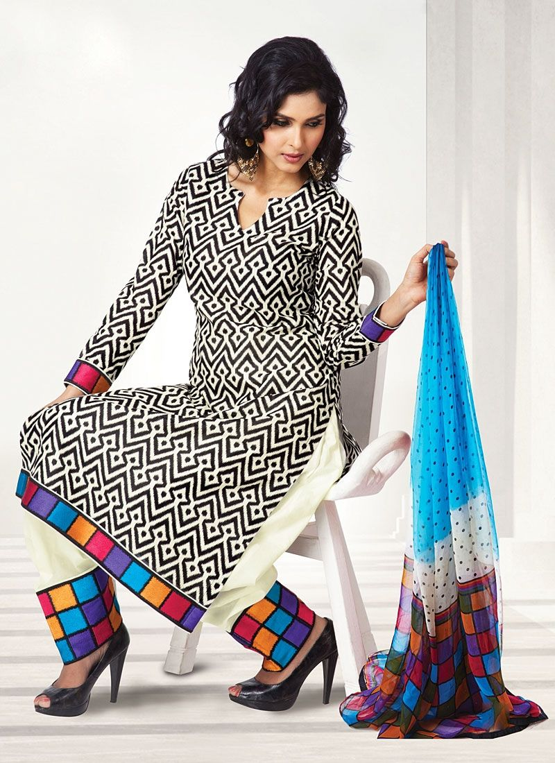 punjabi suits neck designs 2014 party wear new fashion