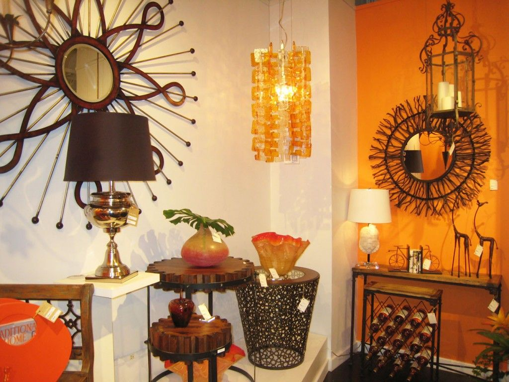 orange continues to be a very popular color in home decor