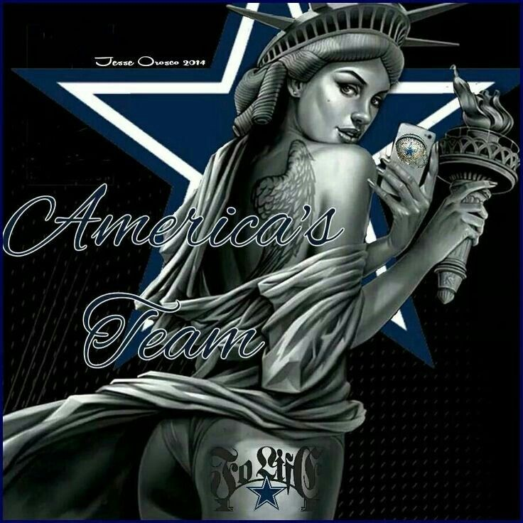 Dallas Cowboys Wallpaper Free: Even Lady LIberty Is A Cowboys Fanatic.
