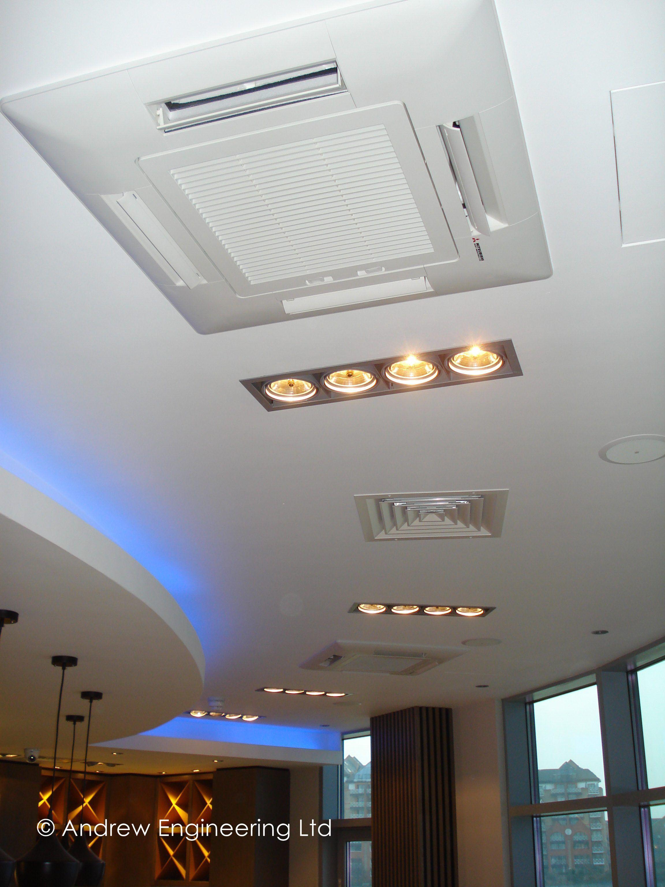 Modern Cassette Ac Ceiling Design Ceiling design, False