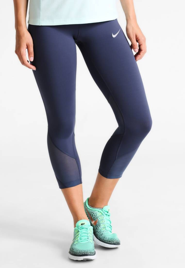 e79f5b1b1fe61 Nike Performance. POWER EPIC LUX - Tights - thunder blue reflective silver.  Taschen