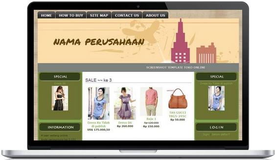 membuat website dan toko online gratis, cara membuat website ...