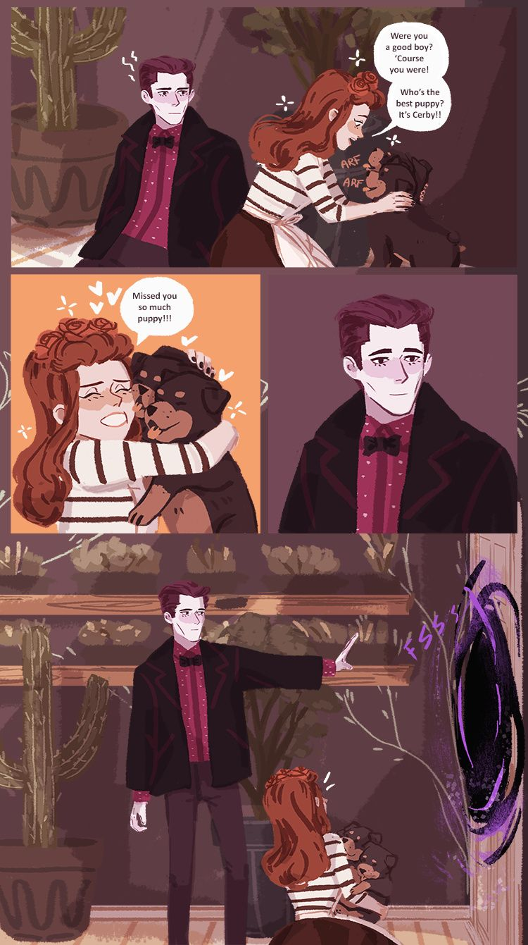 Persephone Comic Hades' Holiday :: Part...