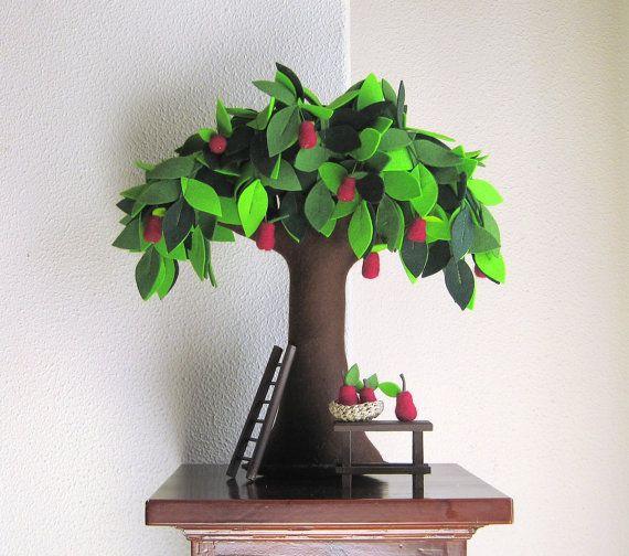 Pear tree plantas y jard n perales y rbol de fieltro - Arbol de fieltro ...