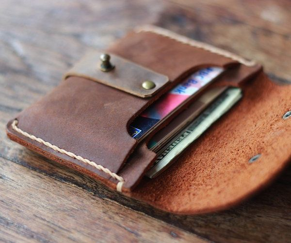 For those that carry around everything but the kitchen sink, the Treasure Chest Credit Card Wallet by JooJoobs is right up your street.