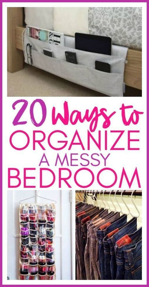 20 Amazing Organization Hacks That Will Transform Your Bedroom