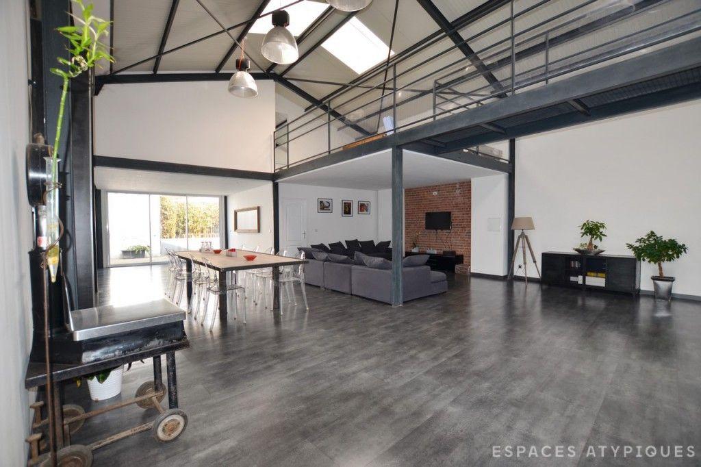 Béthune : Loft industriel avec terrasse - Agence EA Lille