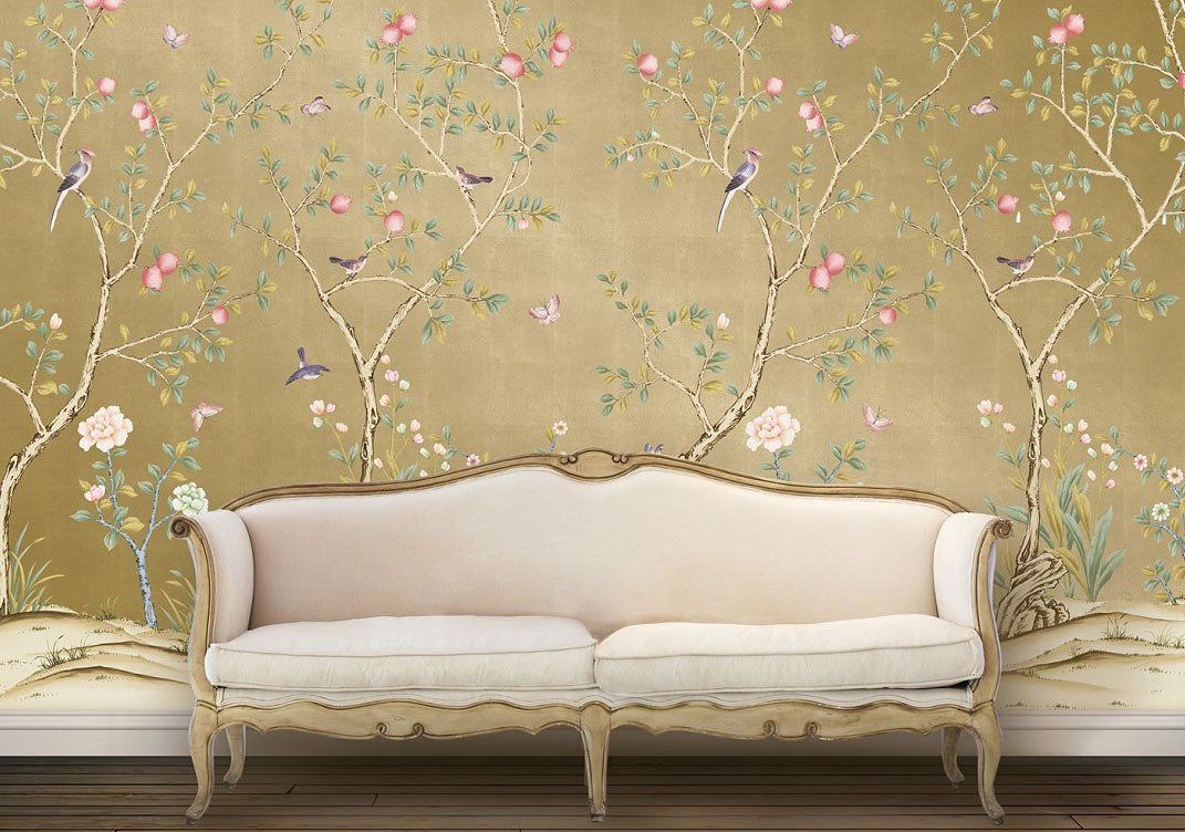This Chinoiserie Wallpaper Is Temporary, Affordable, and Basically a ...