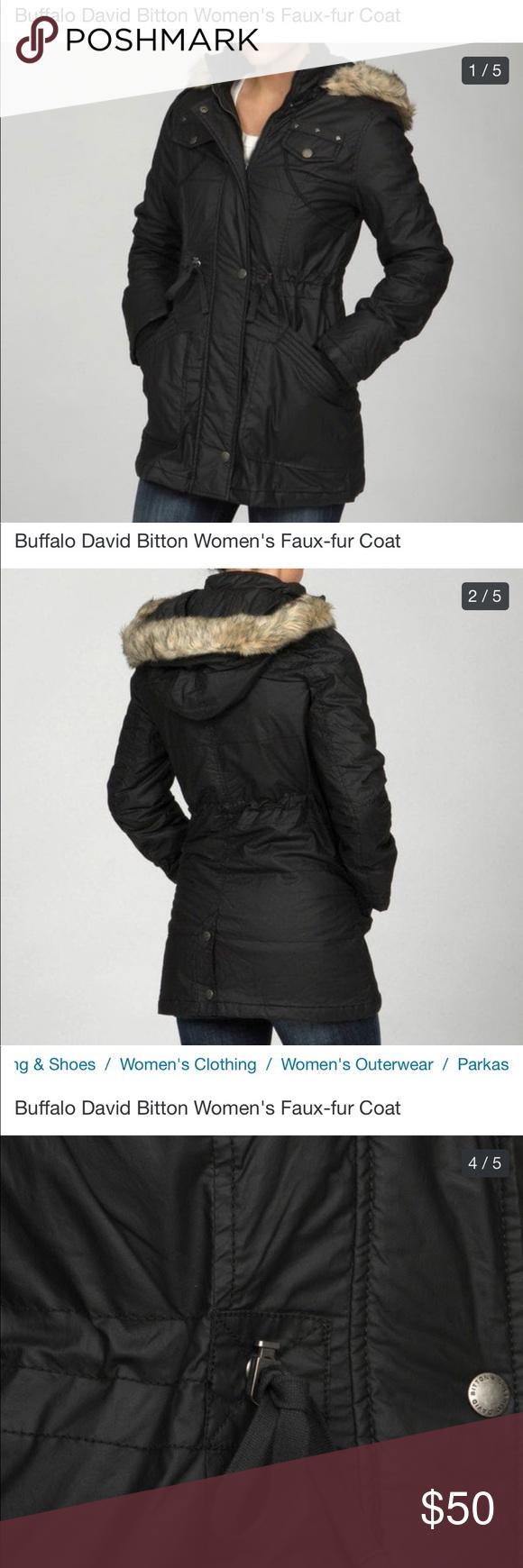 Buffalo David Bitton Faux Fur Coat Faux Fur Coat Womens Faux Fur Coat Fur Coat [ 1740 x 580 Pixel ]