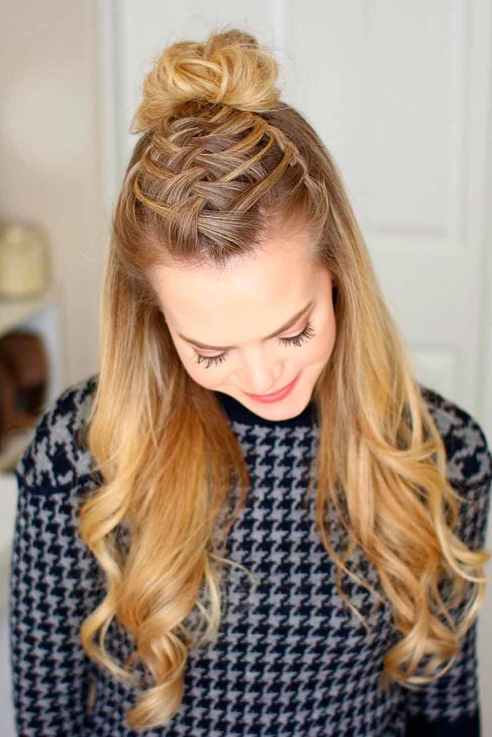amazing braid hairstyles for party and holidays hair