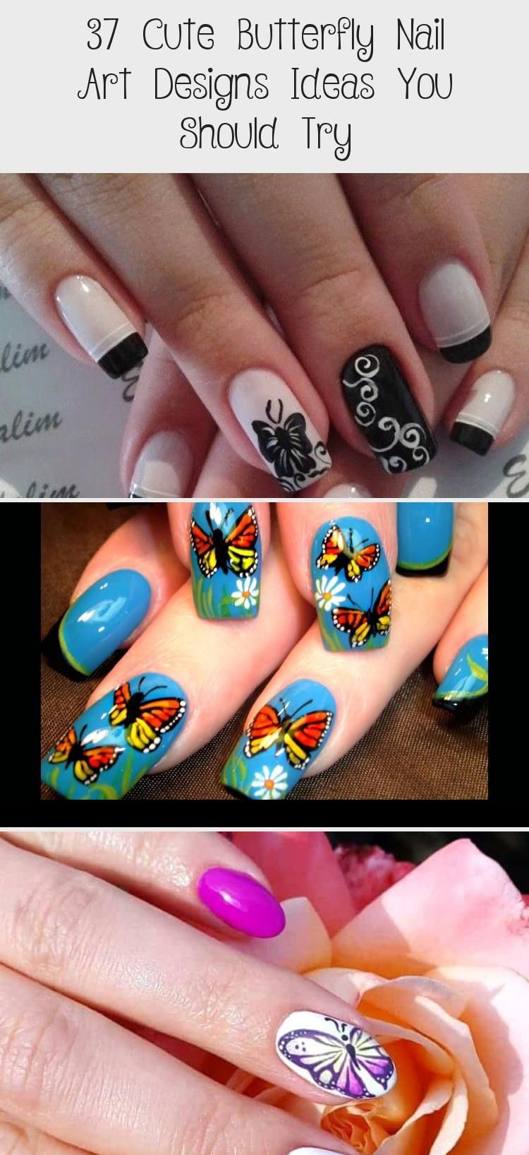 Photo of 37 Cute Butterfly Nail Art Designs Ideas You Should Try – Nail Art