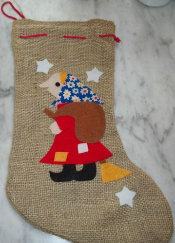 La Befana Strega Nonna Italian Christmas Witch Holiday Decor Stocking 18 Italy