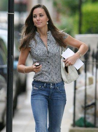 Kate, una principessa in jeans