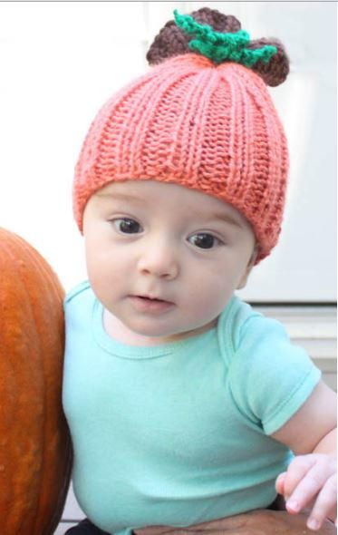 Beginner Pumpkin Baby Hat | Pumpkin baby, Baby hats and Baby hat ...
