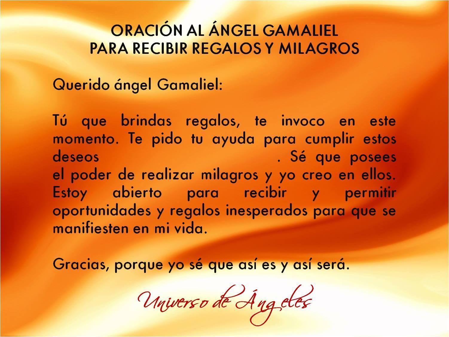 ángel Gamaliel El Nombre Gamaliel Significa Recompensa De Dios Se