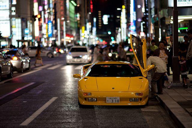 Lamborghini Diablo Car Lamborghini Diablo Tokyo Japan Cars