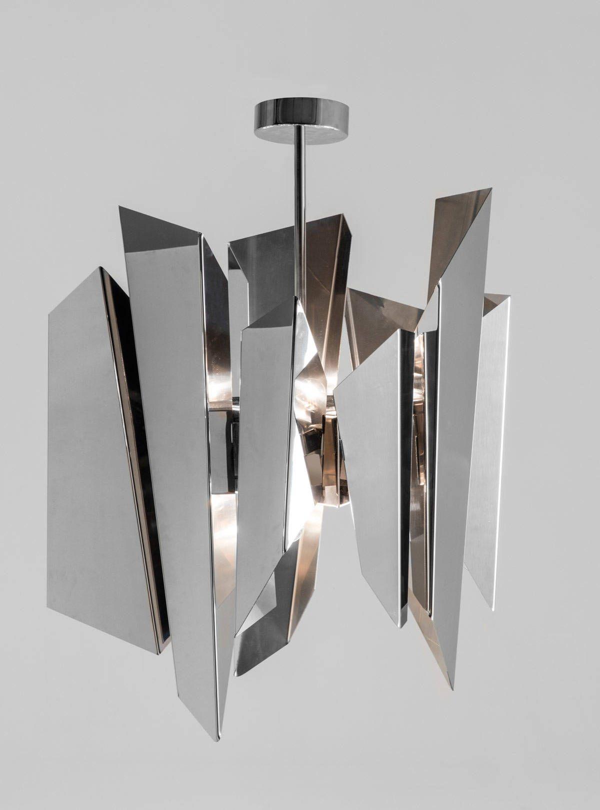 Modello A Sospensione Wright By Nahoor · Glass PendantsFloor Lamps ChandelierSeptember