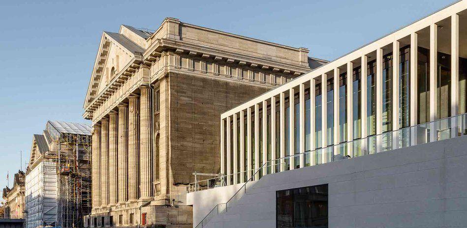 Museumsinsel Berlin James Simon Galerie