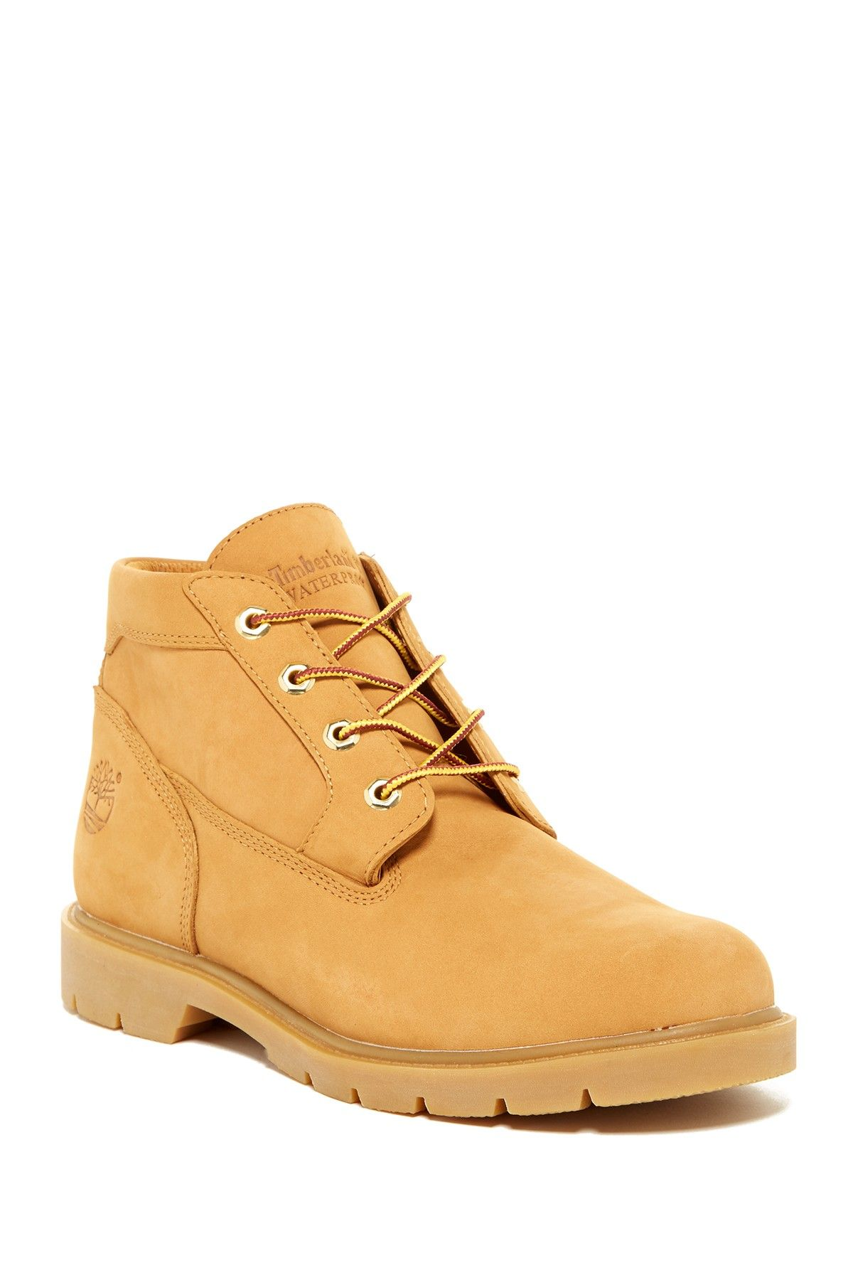 Classic Waterproof Leather Chukka Boot