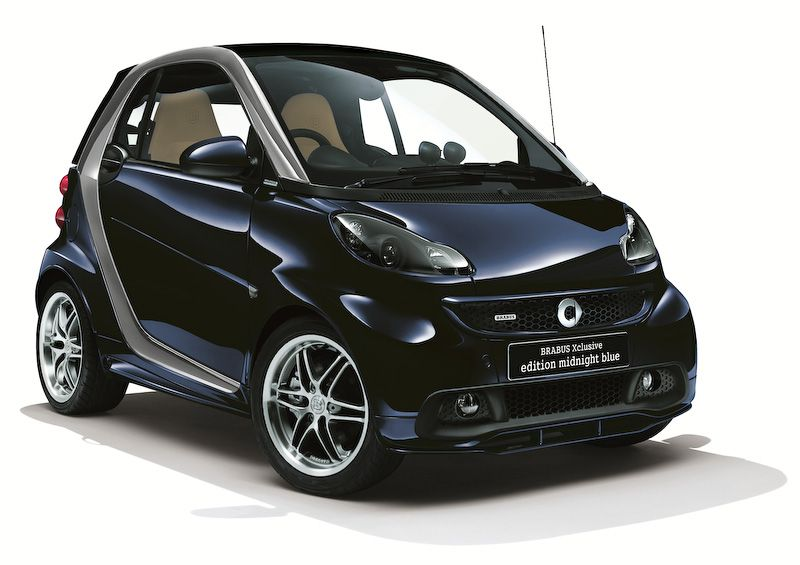 The Smart Brabus Gets Final Edition Midnight Blue In Japan Smart Brabus Smart Fortwo Smart Car
