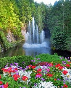 Beautiful Pictures Of Nature Slideshow Butchart Gardens Amazing Gardens Beautiful Gardens