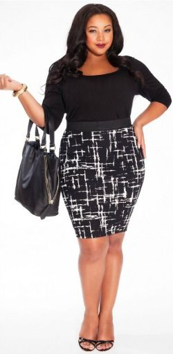 86984023e9 How to wear a pencil skirt with a mid-life middle. Pencil skirts for the  short