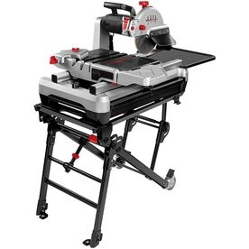 Beast 10 In 2 4 Hp Wet Slide Tile Saw With Stand Tile Saw