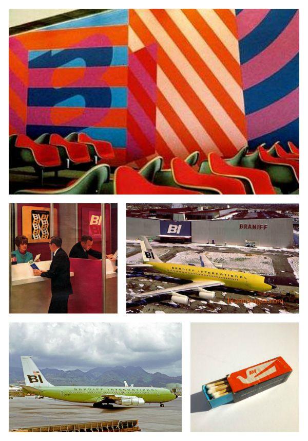 Alexnder Girard/Interior &  Product Design/Emilio Pucci/Fashion Design/Braniff Airlines/1965