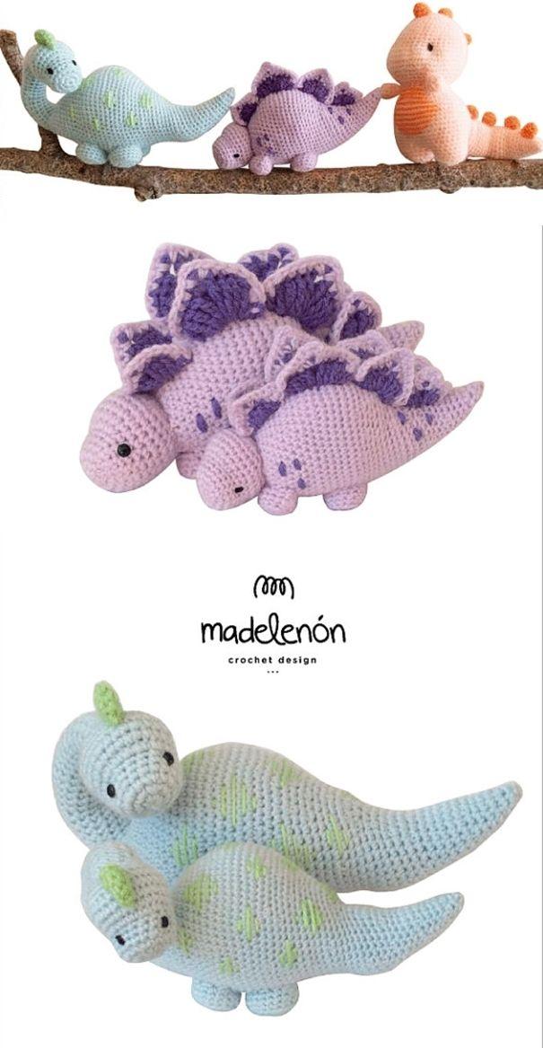 My Jurassic World | yarn | Pinterest | Tejido, Ganchillo y Patrones ...