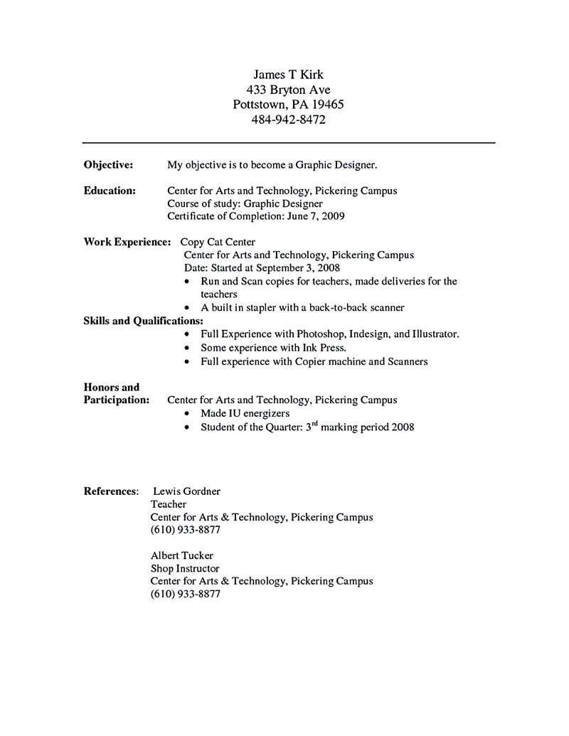 chronological resume Chronological resume is one of the most popular ...