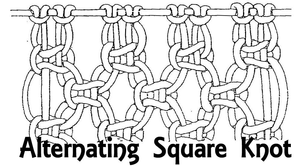 Groovy Square Knot Diagram Printable Assignment Handout Crafty Ness Wiring 101 Orsalhahutechinfo