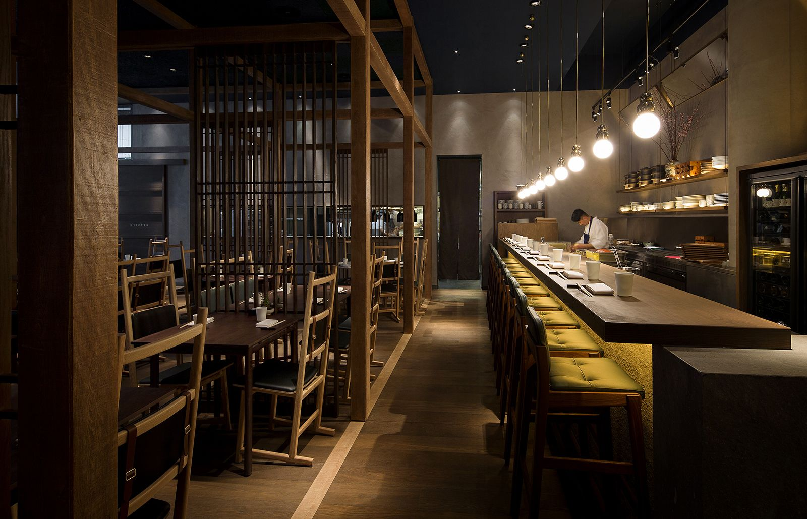 Neri & Hu design a Japanese izakaya for Jason Atherton's new restaurant in  London - The Spaces