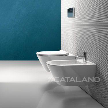 Sanitarios Zero de Catalano: lavabo, inodoro y bidé | Sanitarios ...