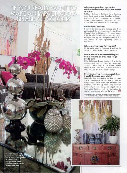 Interior Design Company Profile Dubai From CeciliaClasonInteriors