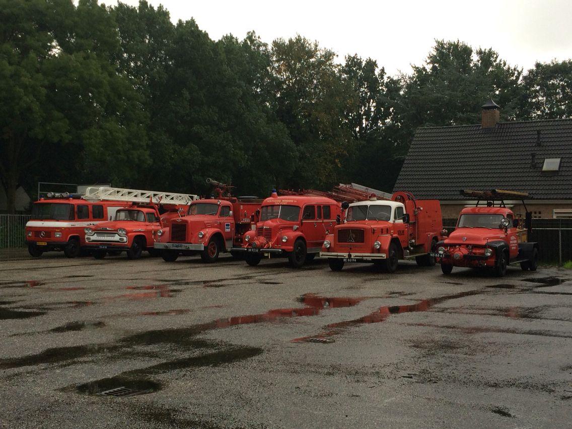 Voertuigen uit het Brandweermuseum Sappemeer