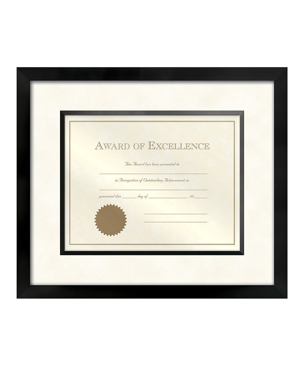 Walnut Wood Matted Certificate Frame | Products | Pinterest