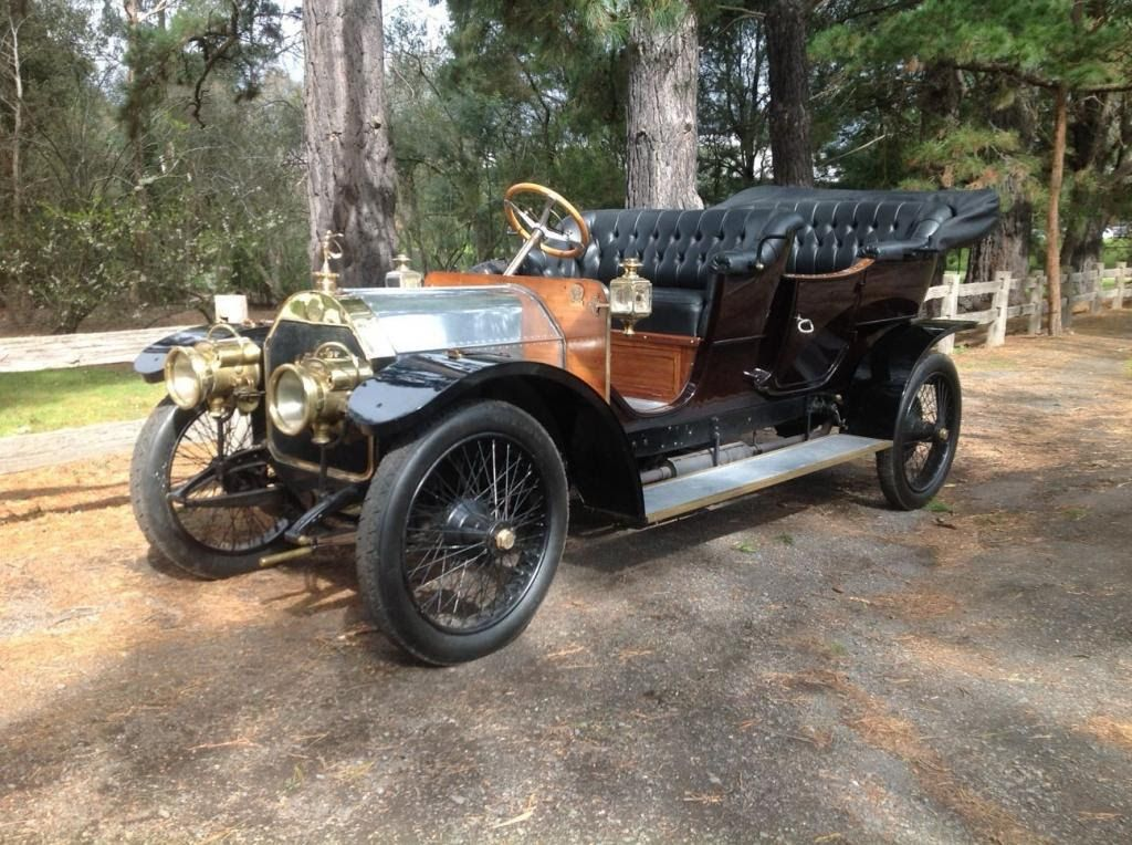 "Motor\'n News: OUTBACK MERCEDES: 105 YEAR OLD ""CAR OF KINGS"" EMERGES ..."