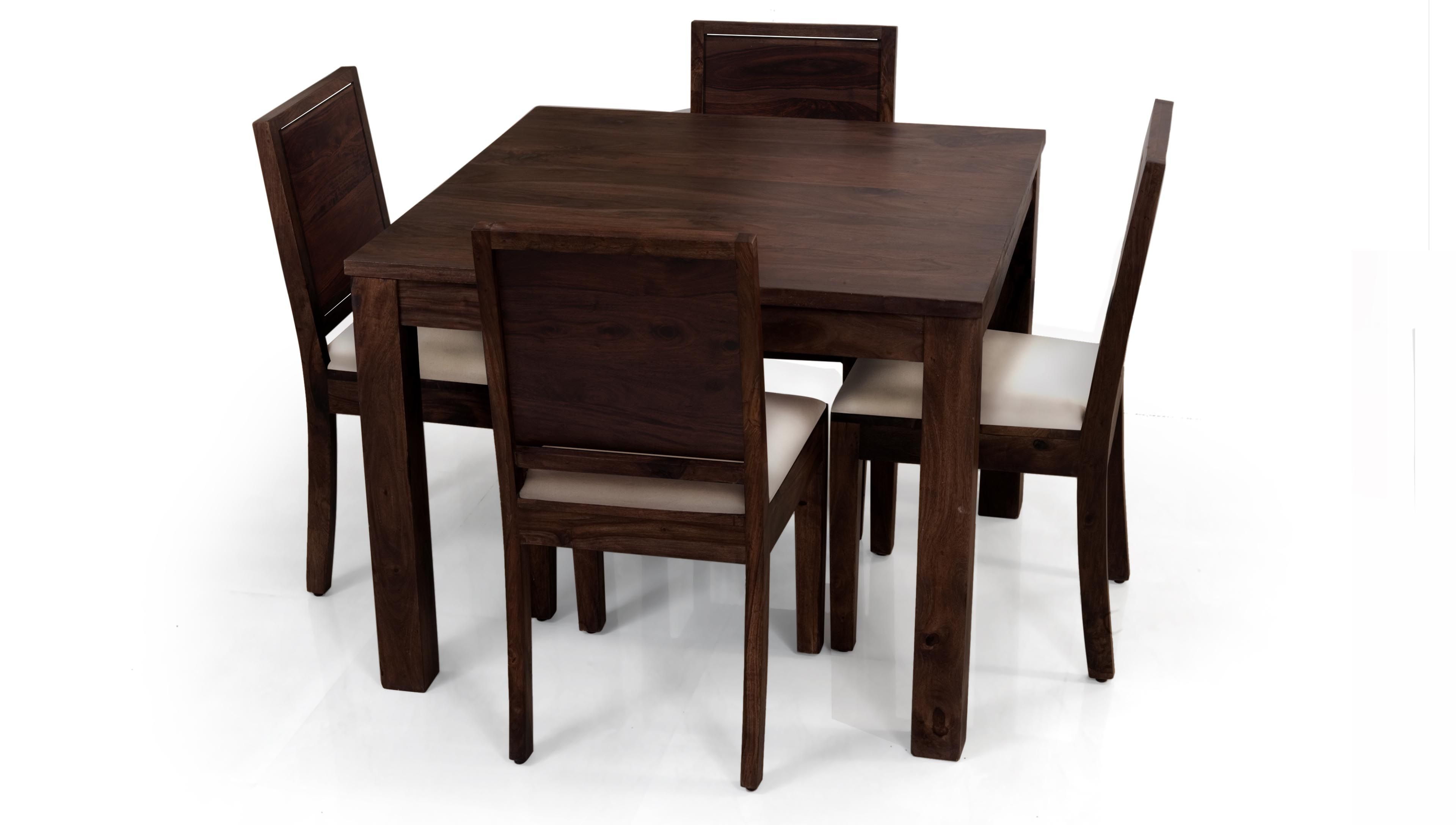 Square Dining Table For 4 Kitchen Table Settings Dining Table