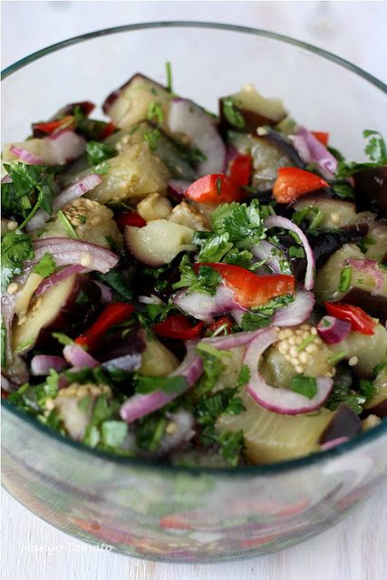 Pin By Jessica Madson On Non Sweet Recipes Eggplant Recipes Eggplant Dishes Eggplant Salad