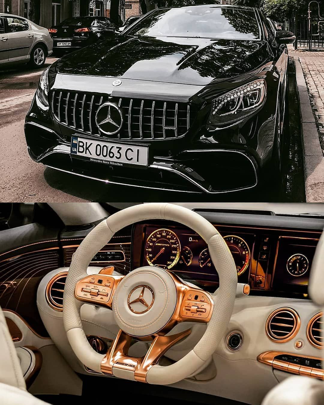 Rosegold Mercedes Benz S63amg Coupe Follow Uber Luxury For More Courtesy Of Younis Pho In 2020 Mercedes Benz Mercedes Benz